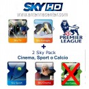 Abo Sky Italia Sky TV + Cinema + Sport + Premiere League - 12 Monate