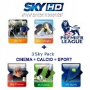 Abo Sky Italia Sky TV+Famiglia+Calcio+Sport<br>+Cinema+FOX Sports+Premiere League<br>12 Monate