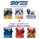 Abonement Sky Italia HD Sky TV + Famiglia + Sport + Premiere League 12 Mois